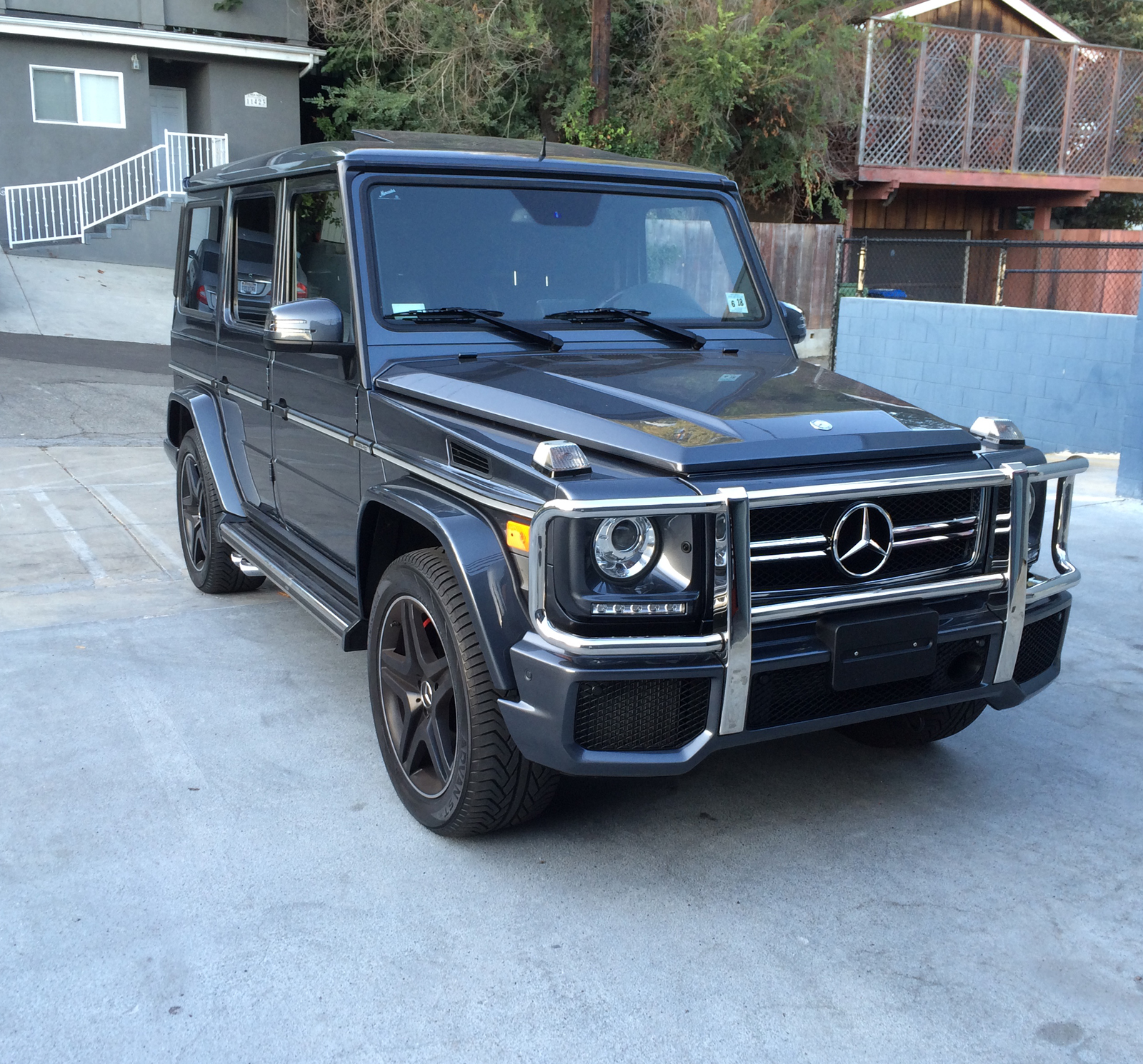 Mercedes Benz 2014 G Class: Purchase Used 2014 Mercedes G63 AMG Matte Black Designo