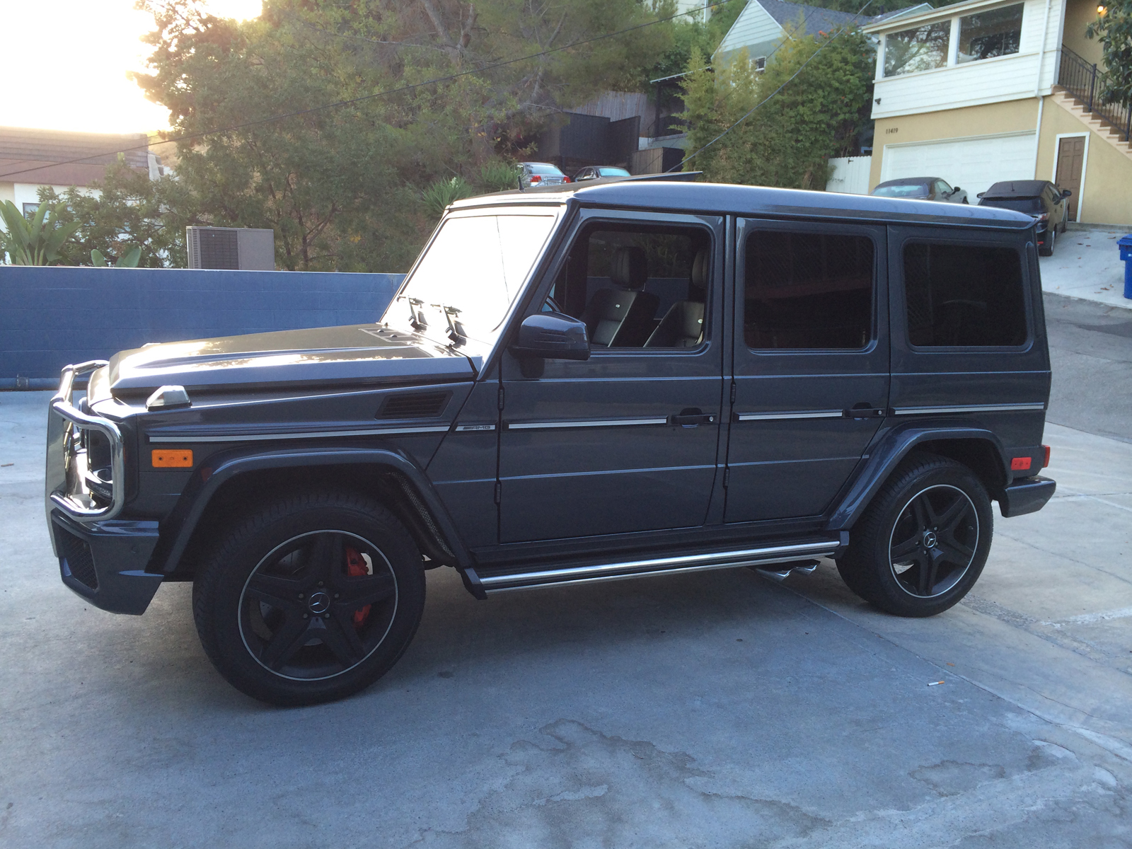 Purchase used 2014 mercedes g63 amg matte black designo for Used mercedes benz g63 for sale